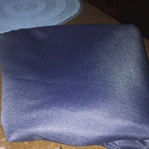 Other - New never used navy table cloth